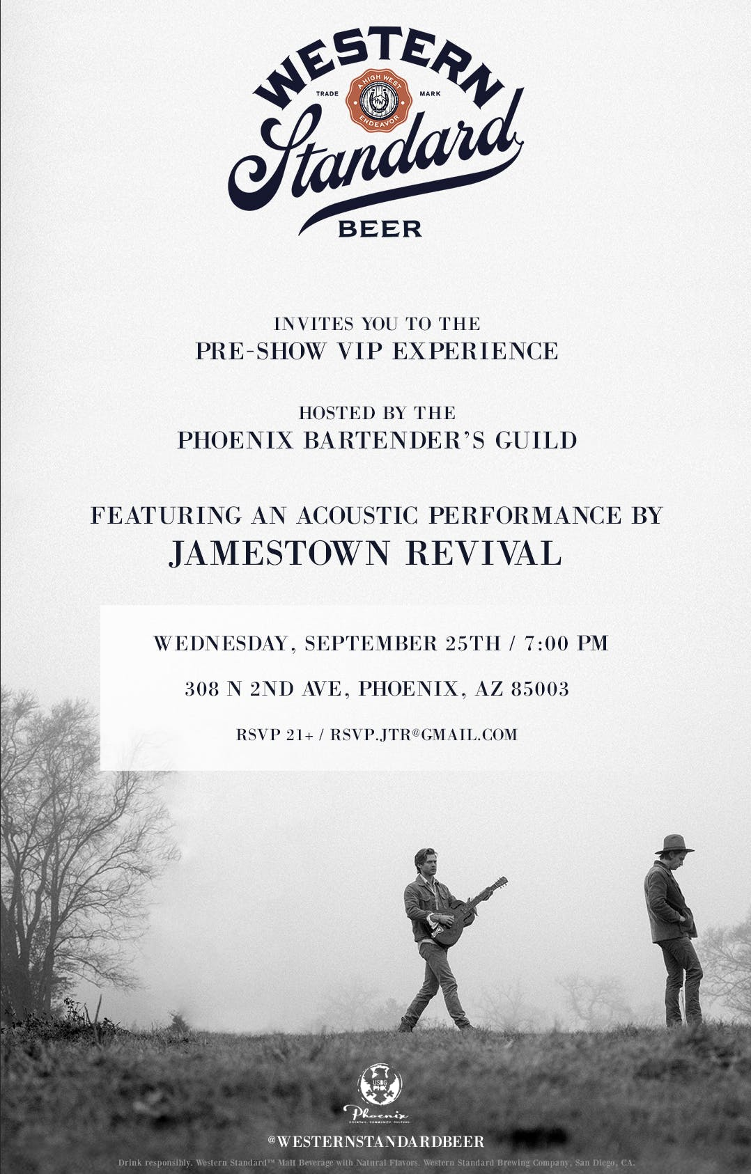 Western Standard VIP Experience