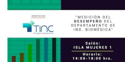 Medición del Desempeño del Departamento de Ing. Biomédica