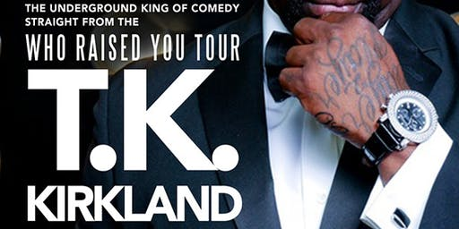 @SoulComedy starring T.K. KIRKLAND! 10.30.19