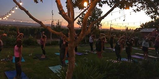 Uncork & Unwind: Yoga in the Vineyard