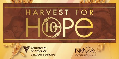 10th Annual Harvest for Hope tickets