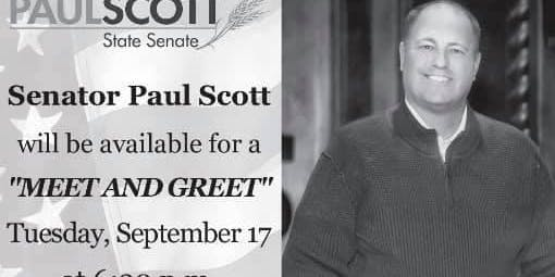 Meet and Greet Senator Paul Scott