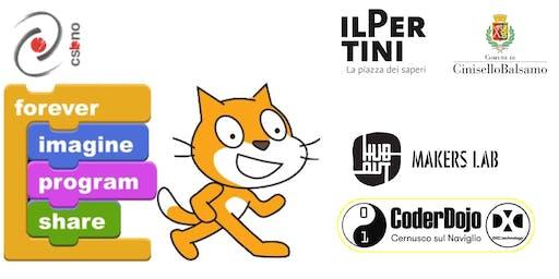 Scratch! Piccoli Coder crescono CoderDojo@DXC @HuboutMakersLab 21 Settembre 19