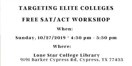 Free SAT/ACT Workshop tickets