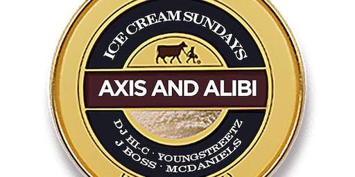 ICE CREAM SUNDAYS @ Axis & Alibi  /Sunday Funday Dayparty/ 2-12am