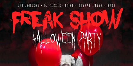 Freak Show Halloween Party tickets