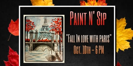 Vive La France- Paint N Sip tickets