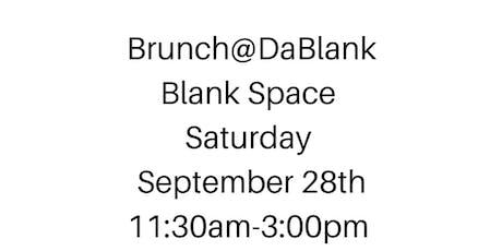 Brunch@DaBlank tickets