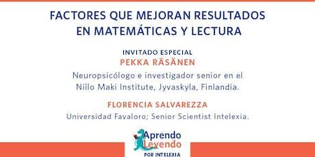 Factores que mejoran resultados en matemáticas y lectura entradas