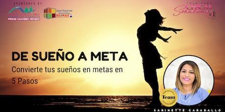 SPCS #NWArkansas - De Sueño a Meta  tickets