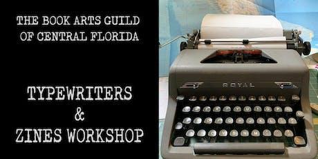 Typewriters & Zines Workshop tickets