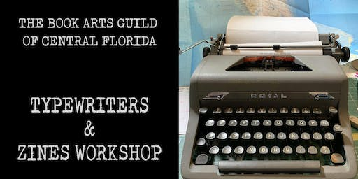 Typewriters & Zines Workshop