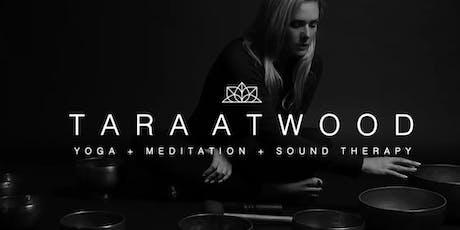 Meditation + Sound Bath with Tara Atwood: Open Doors Yoga, Taunton, MA tickets