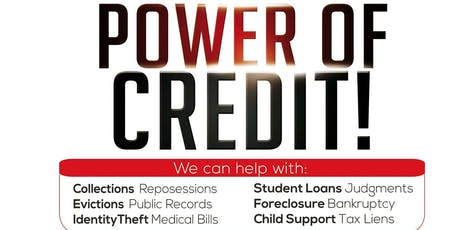 Power of Credit Business Opportunity tickets