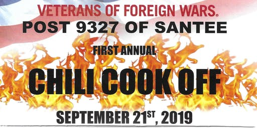 Inaugural Chili Cook Off!