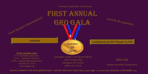 First Annual GRO Gala