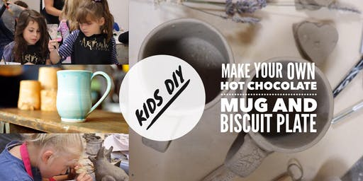 ★  DIY Hot Chocolate Mug and Biscuit Plate