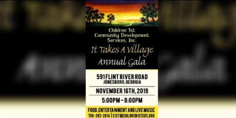 It Takes a Village Annual Gala tickets
