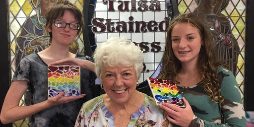 Ring of Caring Glass Mosaic Workshop 10/20/19