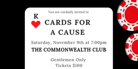 """Second Annual """"Cards for a Cause"""" tickets"""