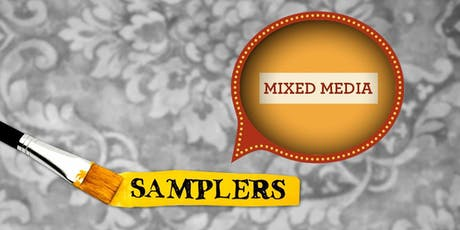 Mixed-Media Painting Sampler • October 19 tickets