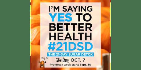 Kick the Sugar Habit! 21-Day Sugar Detox Online Coaching Program tickets