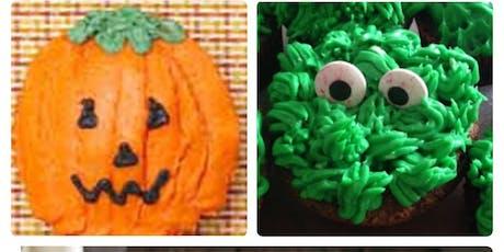 Halloween Cupcakes (8+) tickets