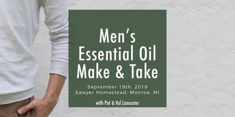 Men's Essential Oil Make and Take tickets