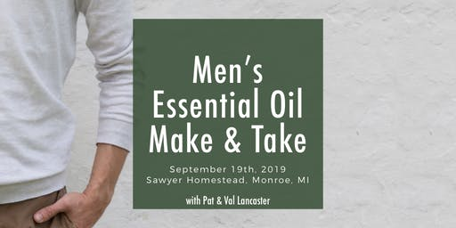 Men's Essential Oil Make and Take