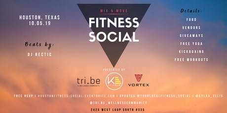 MIX & MOVE: Fitness Social tickets