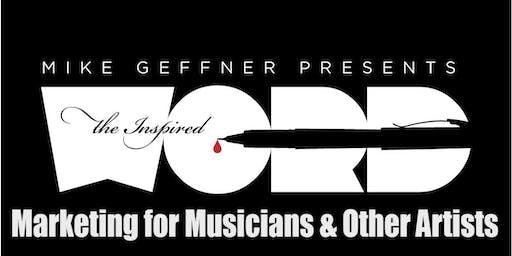 Marketing for Musicians & Other Artists: A Next Level Workshop