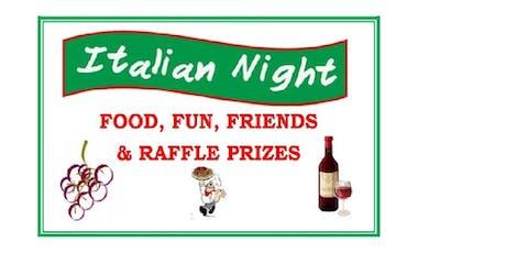WRTC ITALIAN NIGHT - PASTA WITH A PURPOSE tickets