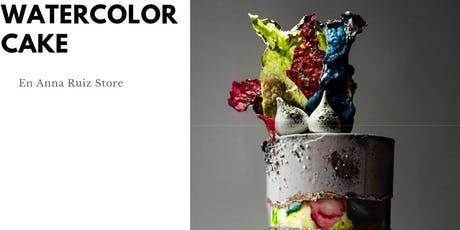 Watercolor Cake en Anna Ruíz Store entradas