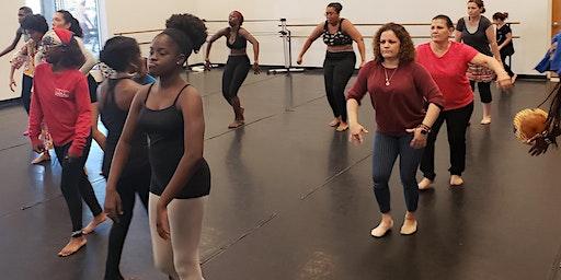 TLL Haitian Folkloric Dance Class