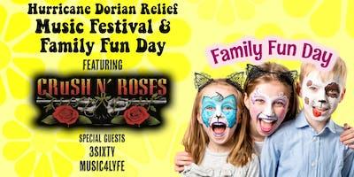 Hurricane Dorian Relief Music Festival & Family Fun Day