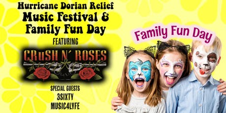 Hurricane Dorian Relief Music Festival & Family Fun Day tickets