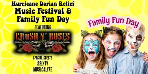 Hurricane Dorian Relief Music Festival & Family Fun Day