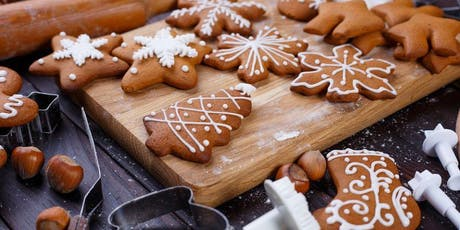 Gingerbread 101 : Make and Decorate Gingerbread Cookies tickets
