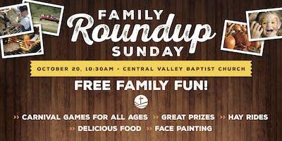 Family Roundup Sunday 2019