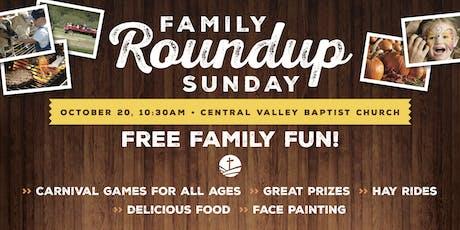 Family Roundup Sunday 2019 tickets