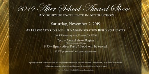 2019 After School Award Show &  After Party