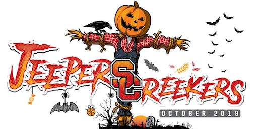 Jeepers Creekers! Eat,Drink and Be Scary Costume Pub Crawl