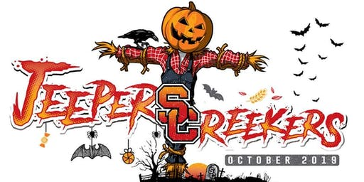 Jeepers Creekers! Eat,Drink and Be Scary Costume P