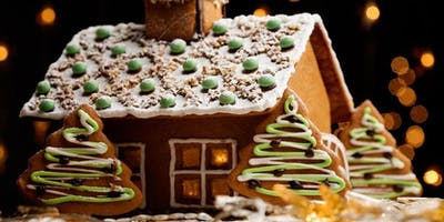 Gingerbread House Decorating for Grown Ups