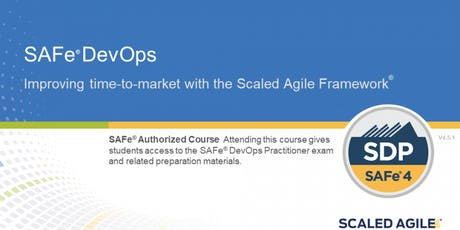 SAFe® 4.6 DevOps Practitioner with SDP Certification New Jersey (weekend)  tickets