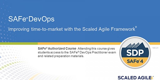 SAFe® 4.6 DevOps Practitioner with SDP Certification New Jersey (weekend)