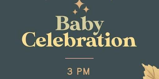 Aj & Chantel's baby celebration