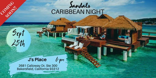 Caribbean Night w/ Sandals