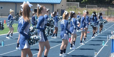 The Springfield Spartan Cheer Team Youth Clinic