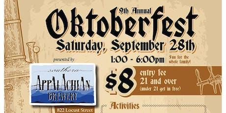 9th Annual Hendersonville Oktoberfest  tickets